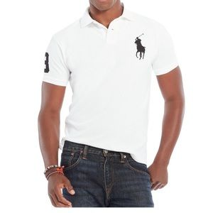 Polo by Ralph Lauren polo shirt white big pony